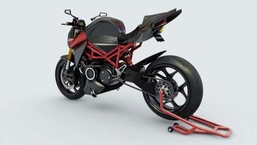 Французи розробляють гібридний мотоцикл з роторним двигуном