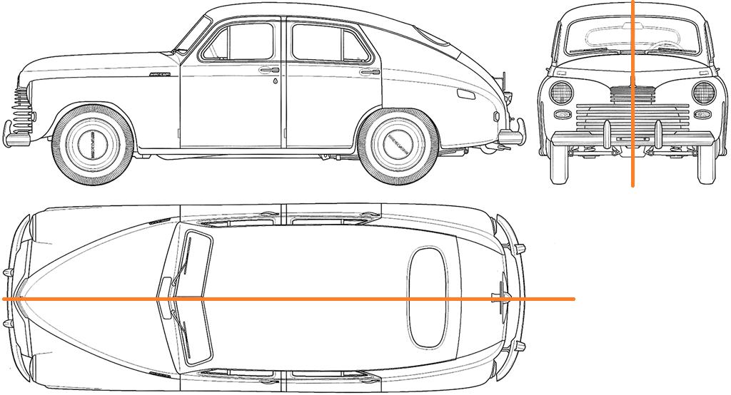 Чому автомобілі майже завжди симетричні?