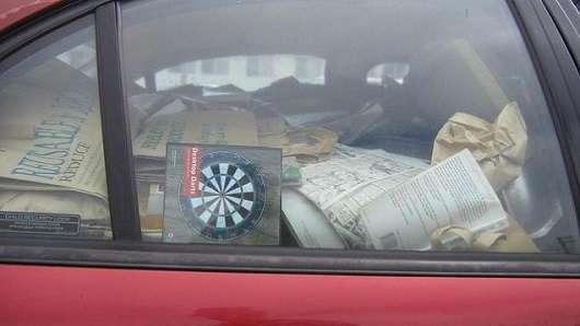 Які секретні місця в машині підходять для того, щоб з них зробити схованку?